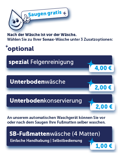 Optionale Angebote